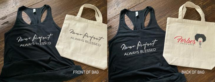 T-Shirt and Bag